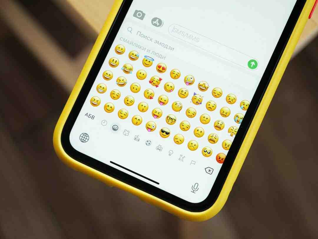 Emoji signification