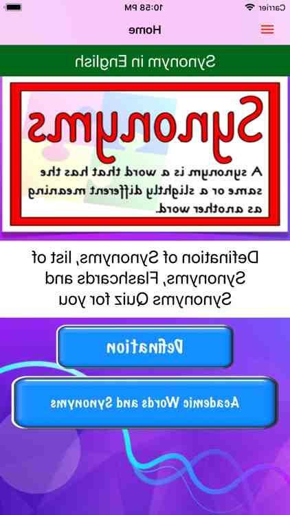 Qui permet d'apprendre synonyme ?