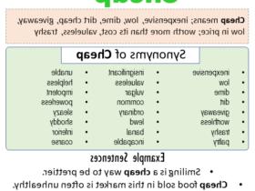 Synonyme avoir
